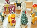 韩国文具  赛铃 可爱动物亲子套装 树脂工艺品 摆件 礼品