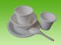 淀粉餐具厂家哪家好,价格公道的淀粉餐具就在许昌绿盾