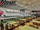 合肥快餐店装修快餐店设计 有范的食尚,经典的味道