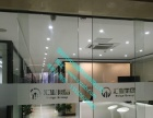 承接中山小榄地区企业门禁一体机 办公室玻璃门安装