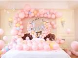 厦门婚庆气球布置,婚房婚礼装饰布置,求婚表白布置