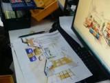 昆山花桥哪里可以学电脑 PS室内设计 制图动画培训