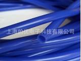 蓝色硅胶管8x10 进口料 内径8外径10mm食品级彩色硅胶管