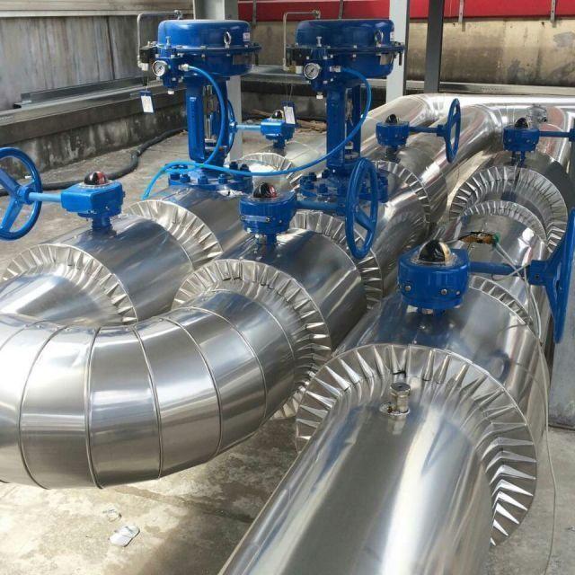 海城管道防腐保温施工队设备铁皮保温工程公司