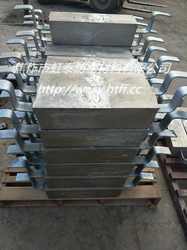 虹泰防腐生产储罐内壁用铝合金阳极,海洋工程用铝阳极