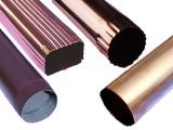 武汉 铝合金天沟 PVC雨水槽 树脂落水管 金属落水系统