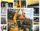 低价出售小松、日立、沃尔沃等进口、国产二手挖掘机(型号齐全)