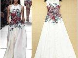 2014欧美夏季新款 时尚走秀款圆领无袖印花女式连衣裙 女裙