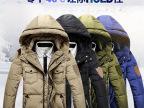 男士韩版羽绒服男装男式连帽羽绒服韩版修身支持一件代发厂家批发
