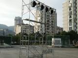 灯光音响舞台桁架出租LED高清屏出租