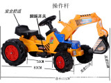 六一全国包邮大型电动挖掘机挖土机推土机玩具儿童电动工程童车