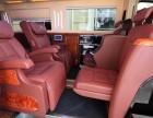 斯宾特酒红色商务车7+2房车豪华版 准新车