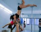 成都青白江钢管舞学校 椅子舞培训学校 竞技钢管舞学校包学会