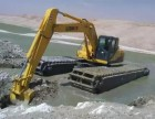 重庆市万盛区中国玉柴200清淤机械租赁水上挖掘机出租