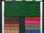 人造皮革 PVC鳄鱼皮 蛇皮纹 现货供应 可做环保