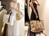 夏款新品显瘦波西米亚收腰纯色白色长裙雪纺无袖连衣裙女装批发