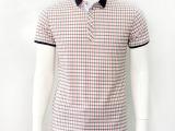 2014夏季爆款商务男式T恤 丝光棉t恤男士短袖T恤男装T恤厂家