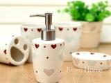宝发工艺 德化陶瓷卫浴套装 创意卫浴 沐