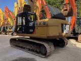 日照二手挖掘机卡特323D低价出售,手续齐全