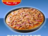 (汉帝食品)深海金枪鱼成品披萨微波烤箱速食方便