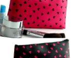 流行 时尚 化妆包 韩版 热销小桃心 化妆包 收纳包 可做礼品赠
