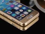 新款iPhone6全包金属手机壳 上下扣金属拉丝 苹果6超薄保护