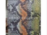 PP草编织面料手袋礼品装饰PP草编织料印花烫银面料JY8043