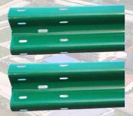 公路工程护栏板安装施工定制喷塑护栏板多色式防撞设施厂家直销