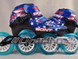 澳大利亚 Bont Vapor 速度/竞速轮滑鞋 3点速滑鞋 B