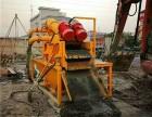 打樁泥漿固化濃縮脫水機-泥漿水河道淤泥處理分離固化設備租賃