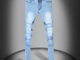 牛仔裤批发 厂家直销 新款男式韩版小脚牛仔裤 牛仔铅笔裤 男