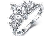 霸气女王皇冠戒指 饰品制造商 饰品工厂