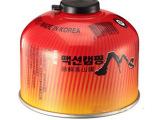 正品脉鲜高山扁气罐户外炉头气罐丁烷气体炊具燃料红色