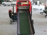 牧草打捆包模一体机 自动青贮打捆包膜机