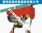 微型电动葫芦220v家用0.5吨1吨提升机小吊机钢丝绳起重机