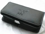 两用一字钢夹休闲商务pu简约翻盖手机保护手机皮套 腰带包批发
