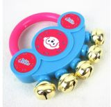卡通婴儿手摇铃玩具 热销摇铃 金属铃铛 清脆铃铛声 经典款2832