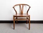 南美胡桃木实木Y椅