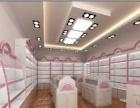 东营专业定制商业烤漆珠宝展柜、化妆品烤漆展柜、展架