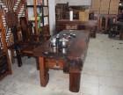 中式老船木茶桌椅组合特价批发休闲茶台实木功夫茶几