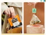 成都时间财富网袋泡茶包装设计