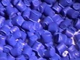 供应一级HIPS蓝色再生料