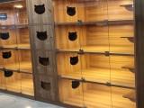 貓別墅籠寵物店專用展示籠防飛毛排風系統貓籠私人定制