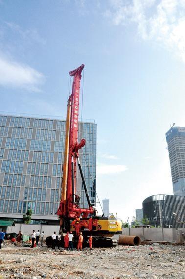 防城港三一旋挖钻机联系电话公司低价格承接旋挖桩基础工程