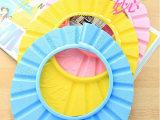爆款正品头帽 宝宝洗发帽儿童浴帽 洗头帽可调节洗澡帽 蓝粉黄