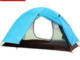 柯瑞普 户外帐篷双人露营旅行沙滩帐篷双层防暴雨铝杆野营帐批发
