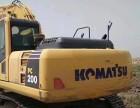 怀化二手挖掘机小松200-8MO低价出售,大件质保