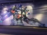 秦皇岛山海关墙体广告,墙体绘画,标语大字绘画广告