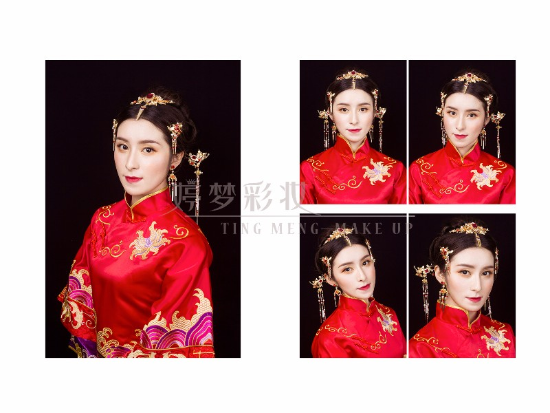 福建福州,婷梦彩妆新娘跟妆培训