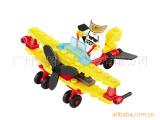 6410天鹰侦察机 塑料拼装小颗粒 儿童积木玩具 批发代发